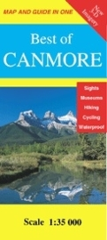 Wandelkaart Best of Canmore | Gem Trek nr. 14 | 1:35.000 |  ISBN 9781895526191