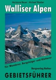Wandelgids-Klimgids Walliser Alpen Gebietsführer | Rother Verlag | ISBN 9783763324163