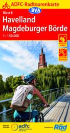 Fietskaart Havelland / Magdeburger Börde | ADFC nr. 08 | 1:150.000 | ISBN 9783969900031