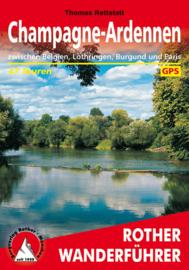 Wandelgids Champagne-Ardennen | Rother Verlag | ISBN 9783763345229