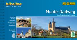 Fietsgids Mulde Radweg - 389 km   Bikeline   Fietsgids Erzgebergte   ISBN 9783850000093