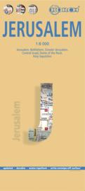 Stadskaart Jerusalem | Borch | 1:8000 | ISBN 9783866093324