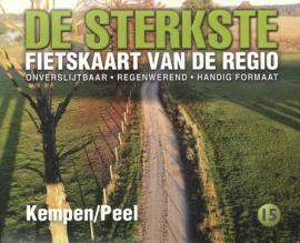 Fietskaart De sterkste fietskaart van de regio : De Kempen en de Peel | Buijten & Schipperheijn | 1:50.000 | ISBN 9789058817181