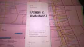 Wegenkaart Nakhon Si Thammarat - Zuid Thailand | Prannok Witthaya Maps | 1:300.000