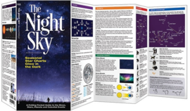 Sterrenkaart - Planisfeer The Night Sky | Waterford Press | ISBN 9781620052808