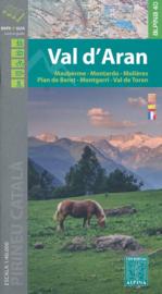 Wandelkaart Valle D`Aran | Editorial Alpina | Centrale Pyreneeën | 1:40.000 | ISBN 9788480906913