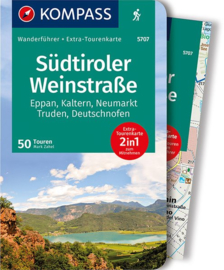 Wandelgids Bolzano - Bozen : Südtiroler Weinstraße | Kompass | ISBN 9783990441503