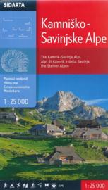 Wandelkaart Steiner Alpen - Kamnisko -Savinjske Alpe | Sidarta | 1:50.000 | ISBN 3830008646354