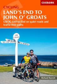 Fietsgids The End to End Cycle route | Cicerone | Fietsen van Land`s End naar John O`Groats - 1550 km. | ISBN 9781786310255