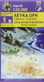 Wandelkaart Lefka Ori, Sfakia - Pahnes - Kreta | Anavasi 11.11 - 11.12  | 25.000 | ISBN 9789609412193