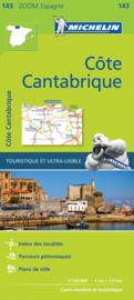 Wegenkaart - Fietskaart  Cantabrië - Costa de Cantabrië | Michelin 143 | ISBN 9782067218062