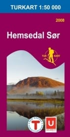 Wandelkaart Hemsedal Sor - Zuid 2688 | Nordeca | 1:50.000 | ISBN 7046660026885