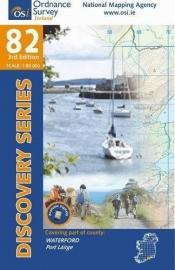 Wandelkaart Ordnance Survey / Discovery series | Waterford 82 | ISBN 9781907122651