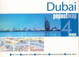 Stadskaart Dubai | Pop Out Map | 1:20.000 | ISBN 9781910218648