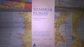 Wegenkaart Ko Samui & Pa-Ngan | Prannok Witthaya Maps | 1:300.000