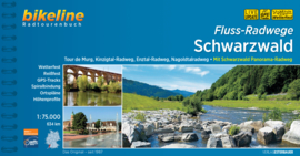 Fietsgids Flussradwege Schwarzwald - 670 km | Bikeline | Dagtochten in het Zwarte Woud | ISBN 9783850008082