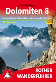 Wandelgids Dolomiten - Dolomieten 8 | Rother Verlag | ISBN 9783763345243