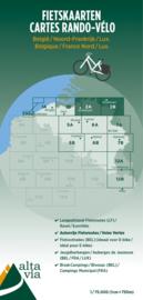 Fietskaart  Antwerpen & Limburg | Alta Via 2 | 1: 75.000 | ISBN 9789082714418