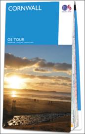 Fietskaart - Wegenkaart Cornwall nr. 01 | Ordnance Survey | 1:100.000 | ISBN 9780319263662