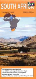 Wegenkaart  Zuid Afrika - South Africa | Tracks4Africa | 1:miljoen| ISBN 9780994720801
