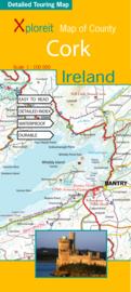 Fietskaart - Wegenkaart Cork - Ierland | Xploreit | 1:100.000 | ISBN 9780955265525