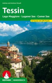 Wandelgids Tessin met  Lago Maggiore, meer van Lugano See en meer van Como | Rother Verlag | Wandelgids Tessin | ISBN 9783763330522