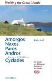 Wandelgids Amorgos, Naxos, Paro, Andros & eastern and northern Cycladen | Dieter Graf | ISBN 9783981925043