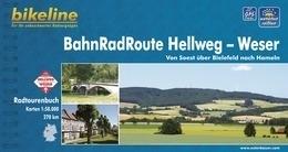Fietsgids BahnRadRoute Hellweg - Weser - 270 km. | Bikeline | ISBN 9783850003018
