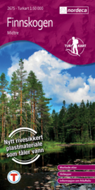 Wandelkaart Finnskogen Midtre 2675 | Nordeca | 1:50.000 | ISBN 7046660026755