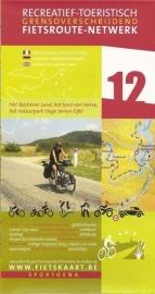 Sportoena fietskaart 12 Aachener Land Aken - Hoge Venen | Fietsroute-Netwerk | ISBN 9789078976028