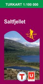 Wandelkaart Saltfjellet | Nordeca 2335 | 1:100.000 | ISBN 7046660023358