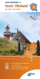 Fietskaart Texel - Vlieland | ANWB 5 | 1:66.666 | ISBN 9789018047061