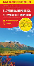 Wegenkaart Slowakije | Mair - Marco-Polo | 1:200.000 | ISBN 9783829739917