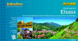 Fietsgids Radatlas Elsass | Bikeline | 1550 km. | Fietsgids Vogezen - Elzas | ISBN 9783850004329