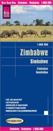 Wegenkaart Zimbabwe | Reise Know How | 1:800.000 | ISBN 9783831772704