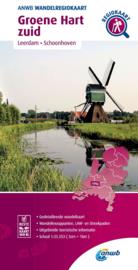 Wandelkaart Groene Hart Zuid | ANWB | 1:33.333 | ISBN 9789018046590