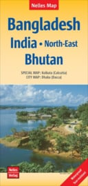 Wegenkaart India Noord-Oost + Bangladesh | Nelles |1:1,5 miljoen | ISBN 9783865742742