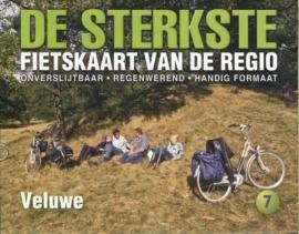 Fietskaart De sterkste fietskaart van de regio : Veluwe | Buijten & Schipperheijn | 1:50.000 | ISBN 9789058816283