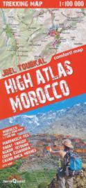 Wandelkaart - Wegenkaart - landkaart Trekking map High Atlas Morocco | TerraQuest 1::100.000 / 1:1,5 miljoen | ISBN 9788361155577