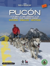 Wandelkaart Pucón | Travel & Trekking map ViaChile Editores | 1:100.000 | ISBN 9789568925048