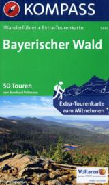 Wandelgids Bayerischer Wald | Kompass | Cham – Bodenmais – Zwiesel – Freyung – Passau | ISBN 9783850269469