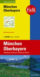 Wegenkaart München - Oberbayern | Falk nr. 16 | 1:150.000 | ISBN 9783827918161