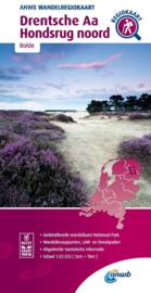 Wandelkaart Drentsche Aa - Hondsrug Noord | ANWB | 1:33.333 | ISBN 9789018046408