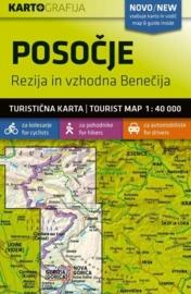 Wandelkaart Posocje (Soca Tal) - Slovenië | KartoGrafija | 1:40.000 | ISBN 3830048522540