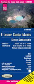 Wegenkaart Bali, Lombok, Sumbawa, Sumba, Flores, Timor, Alor, Wetar | Reise Know how | 1:800.000 | ISBN 9783831774319