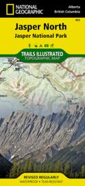 Wandelkaart Jasper North National Park | National Geographic 900 | ISBN 9781566956611