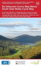 Fietskaart Wales zuidoost - South East Wales Cycle Map 012 | Sustrans | ISBN 9781900623391