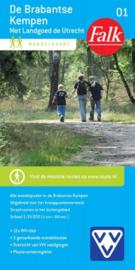 Wandelkaart De Brabantse Kempen met Landgoed de Utrecht nr. 01 | Falk | ISBN 9789028726949