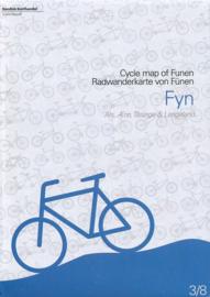 Fietskaart Fyn - Funen | Scanmaps nr. 3 | 1:100.000 | ISBN 9788779671041