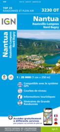 Wandelkaart Nantua – Hauteville-Lompnes – Nord Bugey | IGN 3230OT – IGN 3230 OT | ISBN 9782758543244